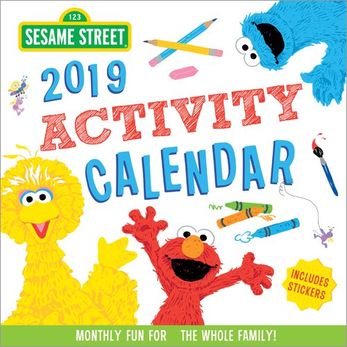 2019 Sesame Street Activity Calendar: Monthly Fun for the Whole Family! Sesame Street Art Workshop
