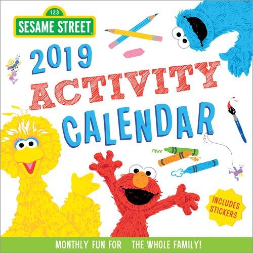 2019 Sesame Street Activity Calendar: Monthly Fun for the Whole Family! Sesame Street Art Workshop