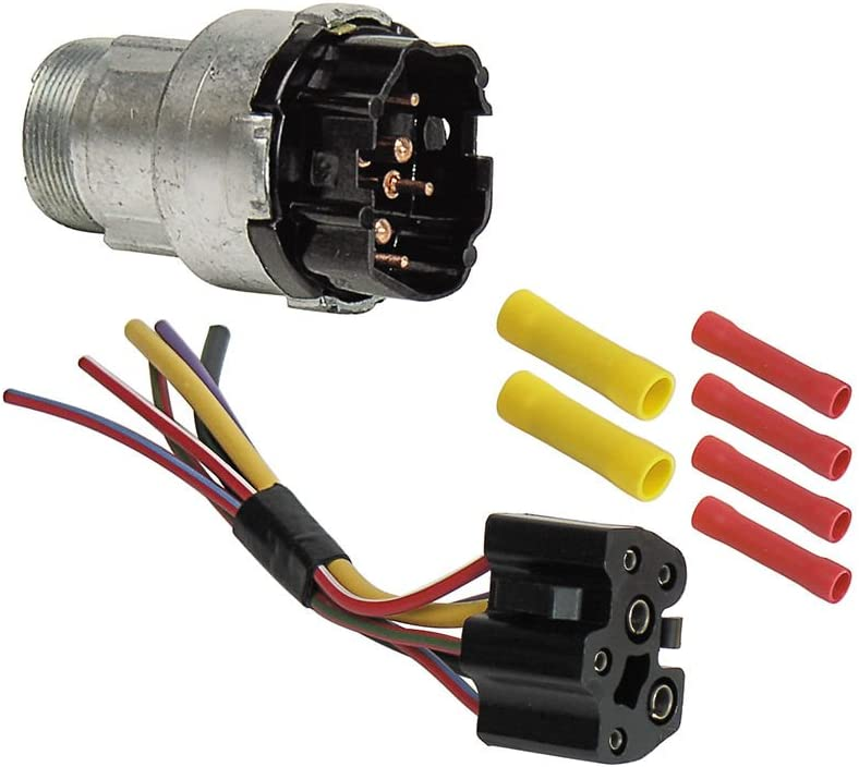 Amazon.com: Ignition Switch with Wiring Harness for 1968-69 Galaxie  Fairlane Mustang 70 F100 Maverick (EBSW1054KT): Automotive | Ford Ignition Wiring Harness |  | Amazon.com