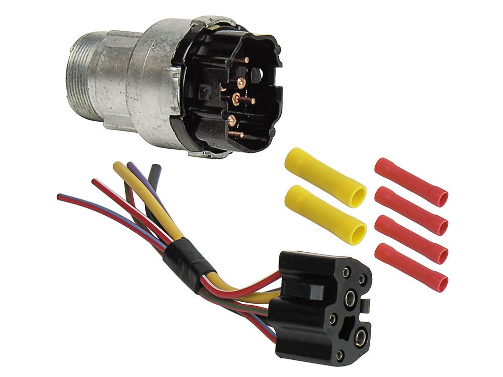 Amazon.com: Ignition Switch with Wiring Harness for 1968-69 ... on