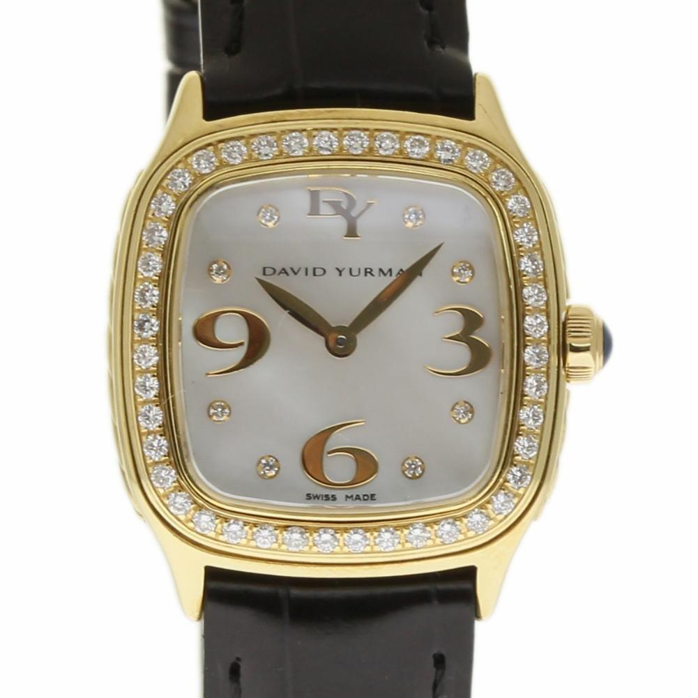 David Yurman Thoroughbred swiss-quartz womens Watch T304-X588 (Certified Pre-owned)