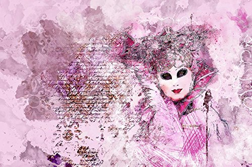 Gifts Delight LAMINATED 36x24 inches Poster: Mask Carnival V
