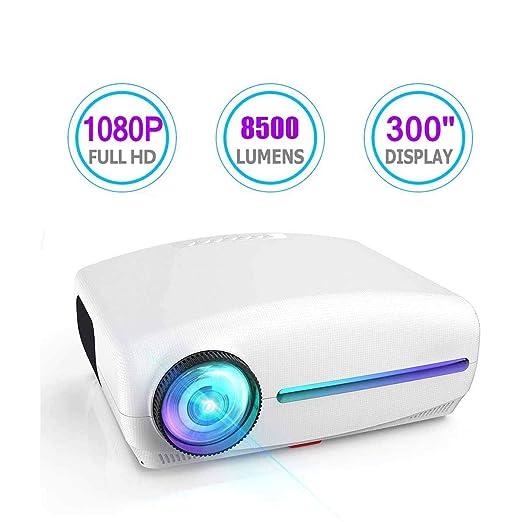 Ai LIFE Proyector Proyector Full HD 1080P (1920x1080) 8500 lúmenes ...