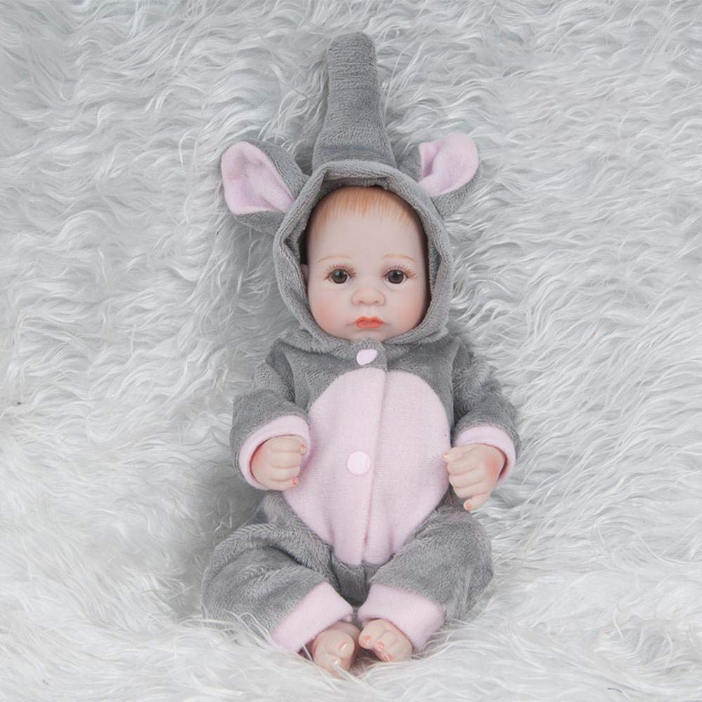 ahorra hasta un 30-50% de descuento Hongge Reborn Baby Doll,Real Doll,Real Doll,Real Life Rebirth Doll Simulation Baby Doll Gift 28cm  en stock