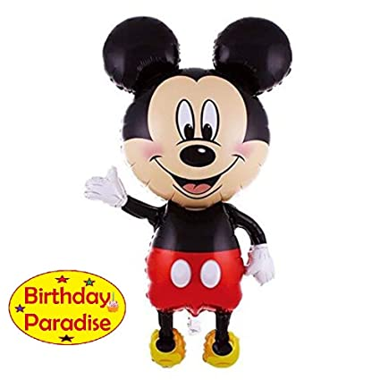 Image Unavailable Not Available For Colour Birthday Paradise Decorative Mickey Mouse Balloons Decorations
