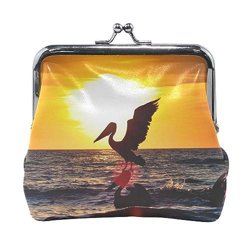 Amazon.com: Rh Studio - Monedero de pájaros pelicanos ...