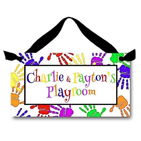 Amazon.com: Handprint Playroom Teacher Classroom regalo ...