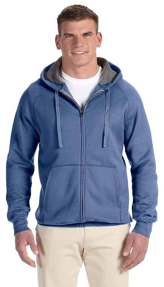 33069da56 Hanes Men Nano Premium Lightweight Full Zip Hoodie at Amazon Men's Clothing  store: