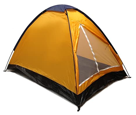 Orange Dome C&ing Tent 7x5u0027 - 2 Person Two Man Blue Orange Sealed Bottom  sc 1 st  Amazon.com & Amazon.com : Orange Dome Camping Tent 7x5u0027 - 2 Person Two Man ...