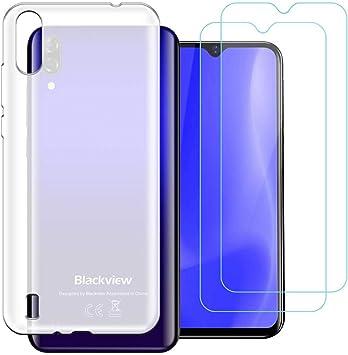 Funda para Blackview A60 2019,Flexible Suave Frosted Silicona Smartphone Cascara Protectora para Blackview A60 2019 (6,1