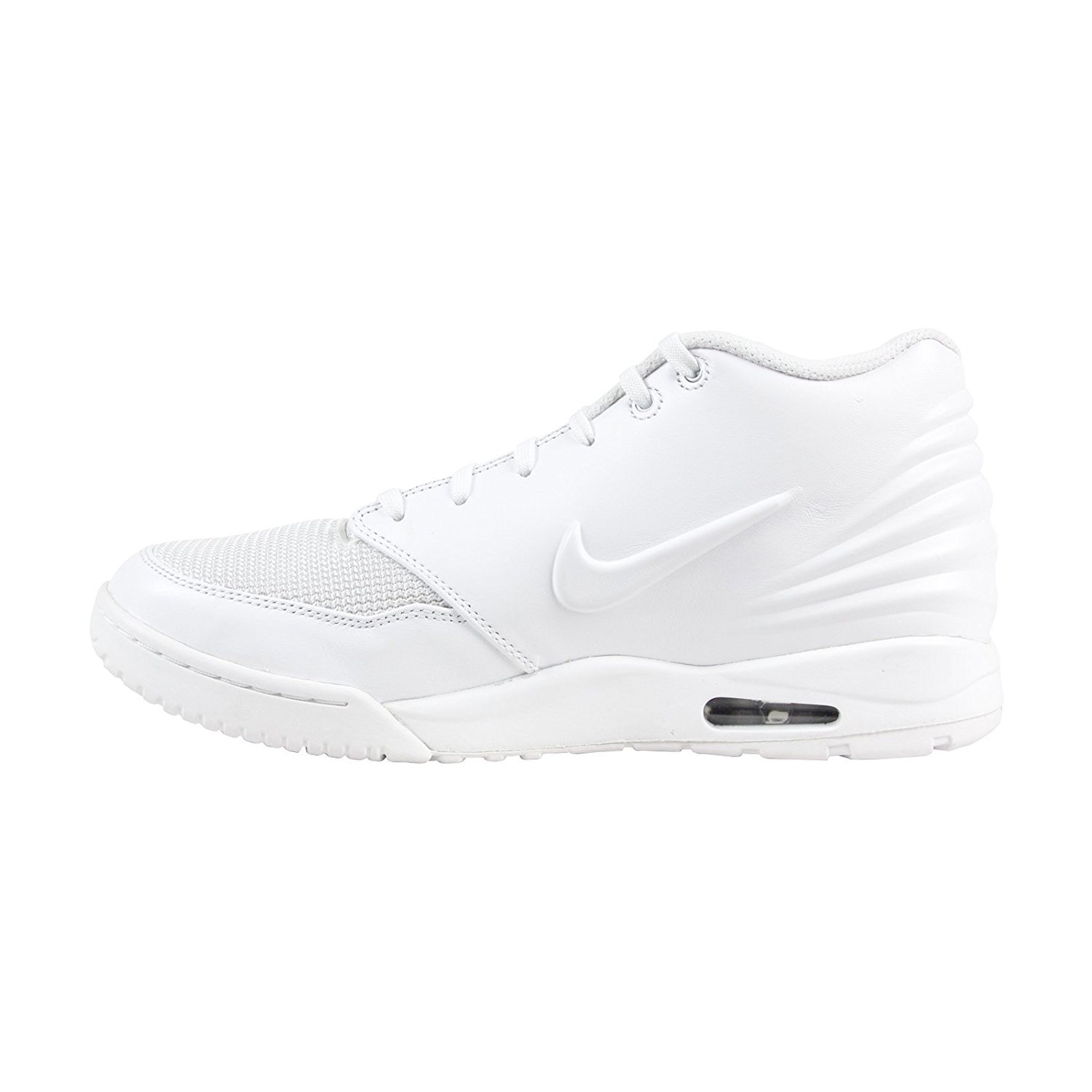 NIKE Mens Air Entertrainer Low Top Lace up, White/White-Black, Size 11.0 by NIKE (Image #4)
