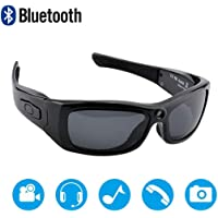Deals on Newwings Bluetooth Sunglasses Full HD 1080P Video Camera