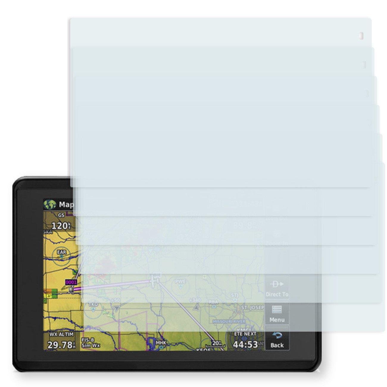 6X Golebo Anti-Glare Screen Protector for Garmin aera 660 (Anti-Reflex, Air Pocket Free Application, Easy to Remove)