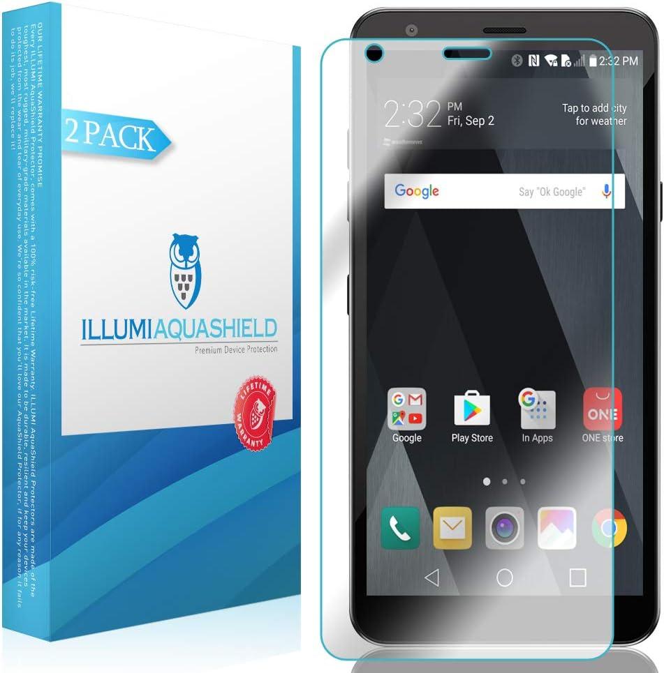 ILLUMI AquaShield Screen Protector Compatible with LG Escape Plus (2-Pack) No-Bubble High Definition Clear Flexible TPU Film