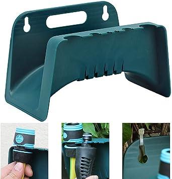 garden home hose holder pipe hanger storage hosepipe hook watering reel rack TWU
