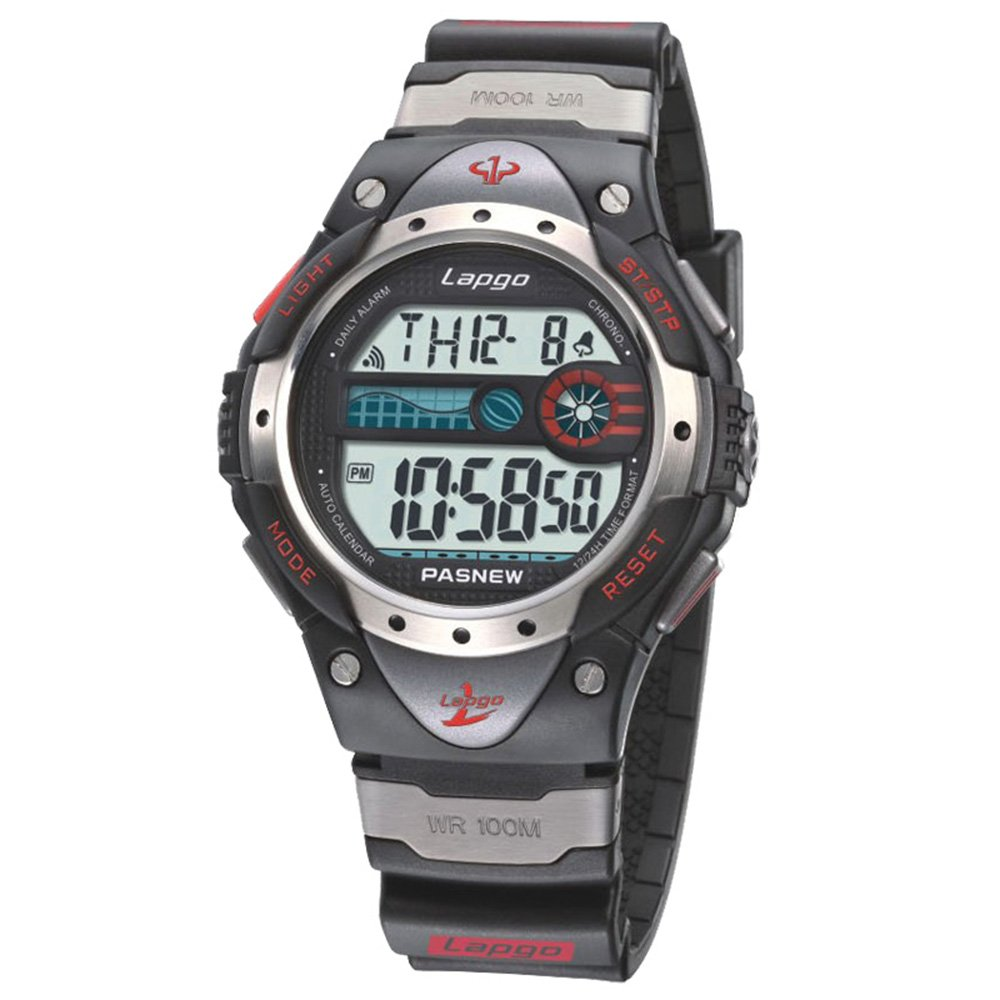 Sports Watches Waterproof 100M LCD Digital Sports Gifts for Men Boys Age 10+