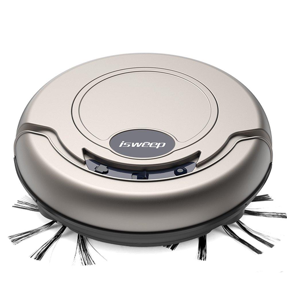 isweep Smart Robotic Aspiradora Potente Barredora Adecuado para mascotas pelo Hard suelo Cuidado S550 S320 automático Vaccum Robot de gshopper® S320 dorado: ...