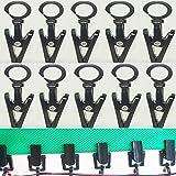 #5: ( Pack of 20 ) , RV Trailer Party Light Holder Hanger Hook Clip String Awning Camper Part, for caravan curtain Klippy Clips rods Awning Lights,String Hang light, Banners