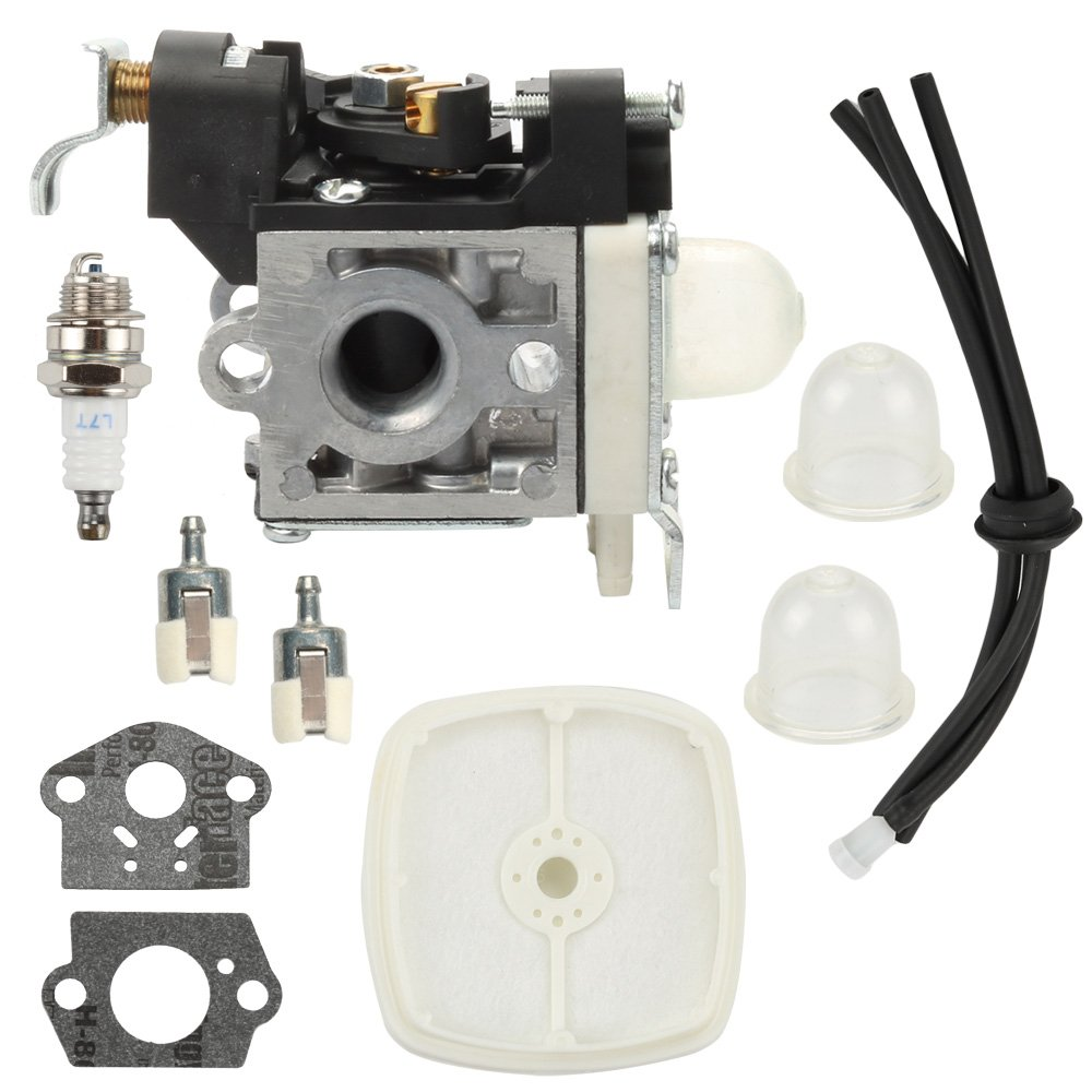 Butom Carburetor+Air Filter+Fuel Filter+Fuel Line Kit for Echo PB265LN PB251 PB265L Blower RB-K85 A021001350 A021001351 A021001352 Carb