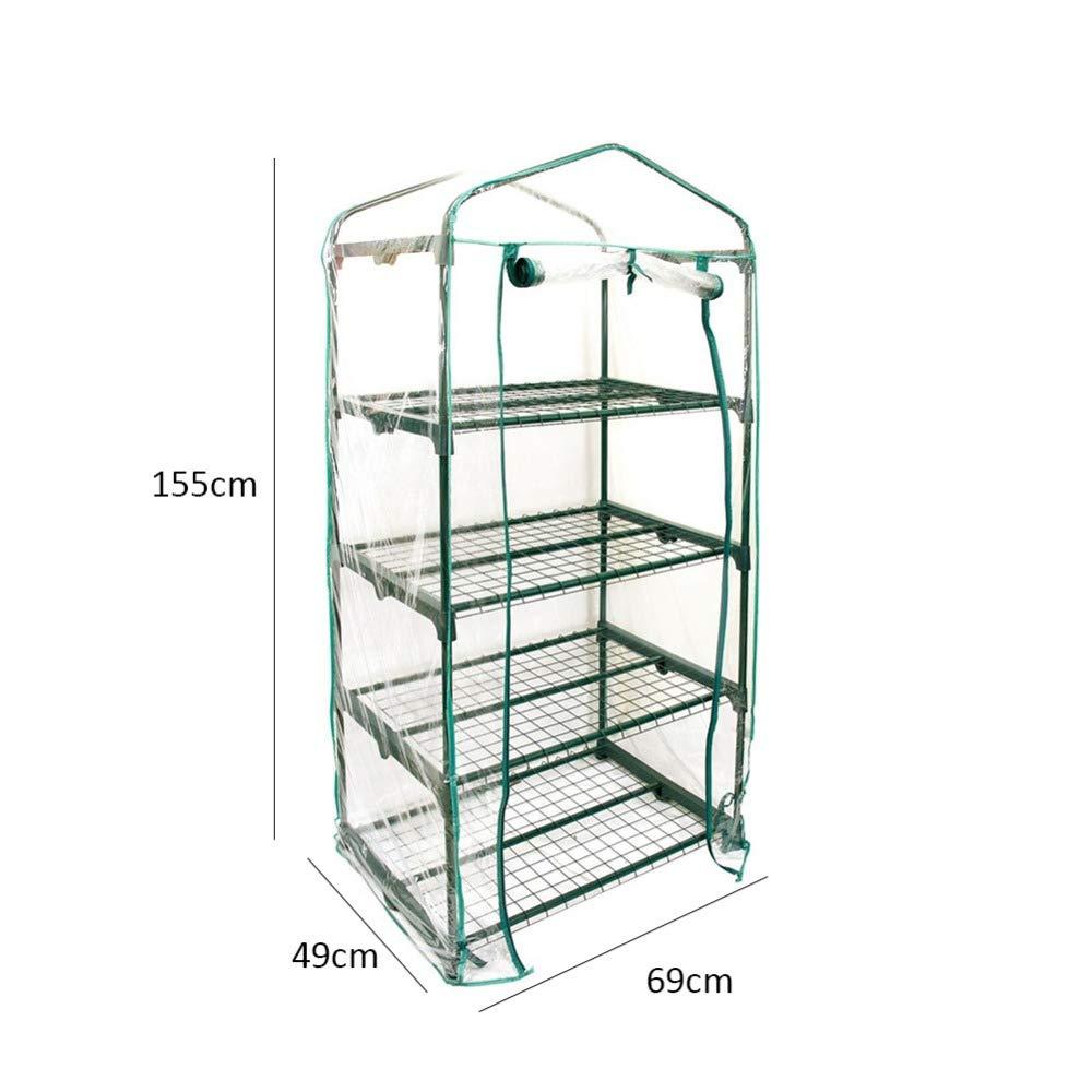 Mini Greenhouse <4-Tier> <27'' Long x 18'' Wide x 63'' High> by Garden Mini (Image #2)