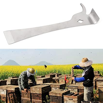 10-Inches Stainless Beehive Claw Scraper Beekeeping Tool Pry Equipment