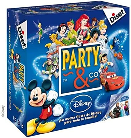 Diset- Disney Juego Party, 27.2 x 26.7 x 8.9 (46504): Amazon.es ...