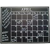 Chalkboard Calendar Wall Sticker - Blackboard Organizer Decal