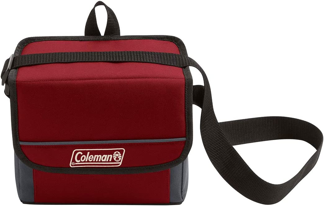Coleman Collapsible Cooler with 16-Hour Ice Retention   Soft-Sided Cooler Bag Folds Flat for Compact Storage