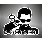 –pegatinas Depeche Mode Hip Hop Jazz Hard Rock Metal Pegatinas, 10 cm