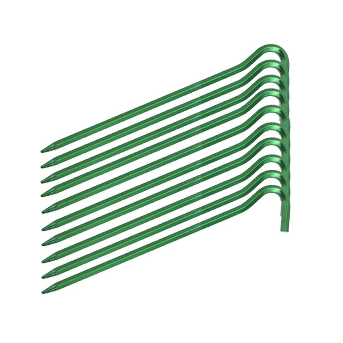 SHOW-WF Resistente piquetas para Tienda de campa/ña,18CM x 3.2MM,/Ø 6mm Aluminio,para toldo Malla Estanque jard/ín Camping
