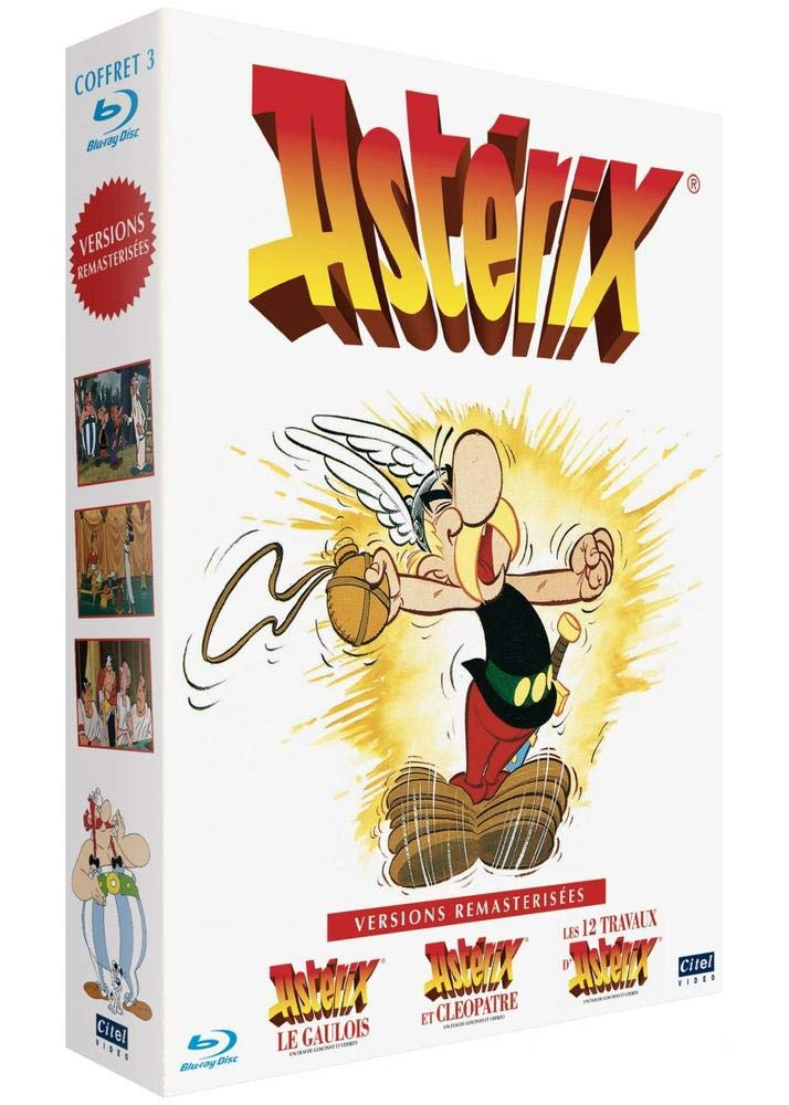 Astérix : Astérix le Gaulois + Astérix et Cléopâtre + Les 12 travaux d Astérix Francia Blu-ray: Amazon.es: Ray Goossens, René Goscinny, Albert Uderzo: Cine y Series TV