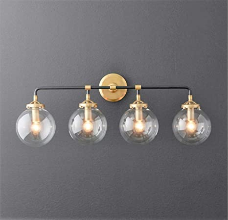 Fabulous A Touch Of Design Globe 4 Light Globe Vanity Sconce Black Home Interior And Landscaping Fragforummapetitesourisinfo