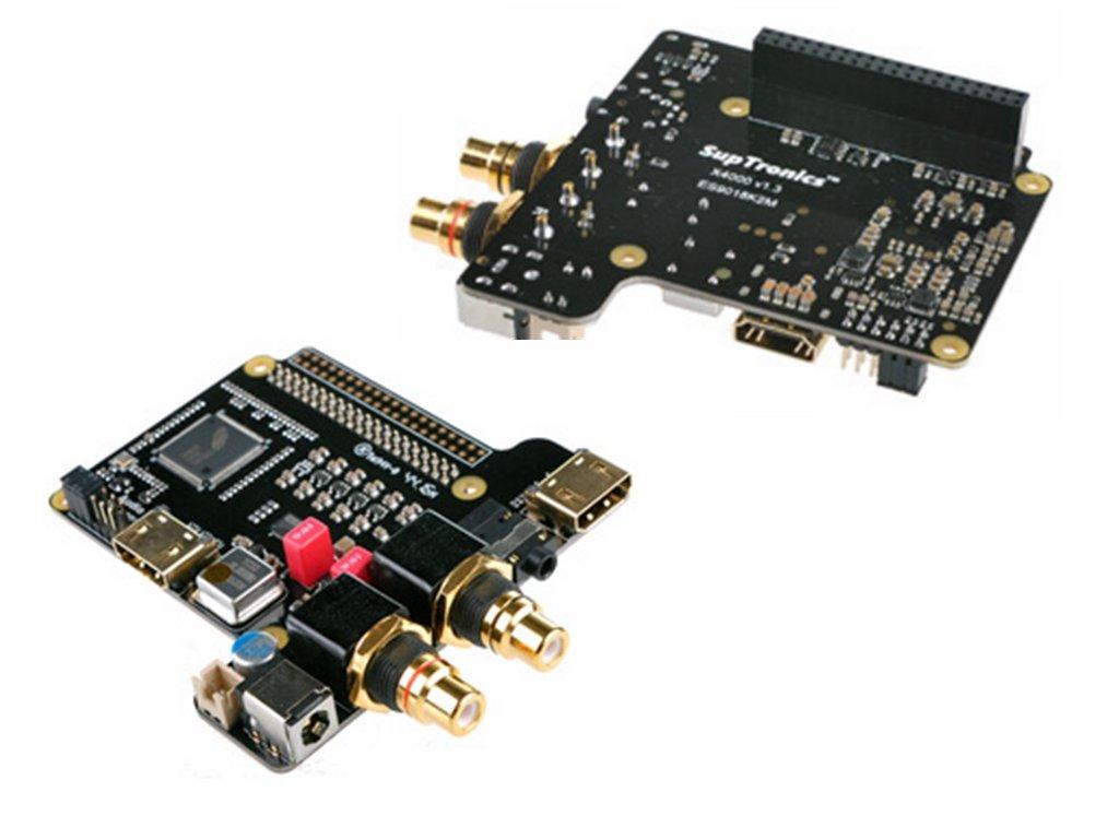 X4000K DIY Kits Raspberry Pi 1 Model B+/2Model B/3 Model B @Pzsmocn Playback upto 384khz I2S/DSD256