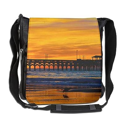 Gorgeous Sunrise Fashion Print Diagonal Single Shoulder Bag
