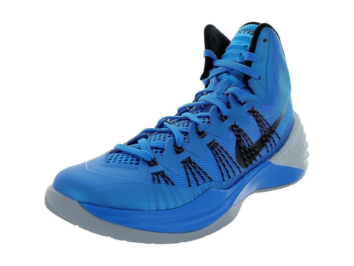 a5f38560660 Nike hyperdunk 2013 599537 401 mens basketball trainers uk 9 us 10 eu 44  sneakers shoes photo blue wolf grey black  Amazon.co.uk  Shoes   Bags