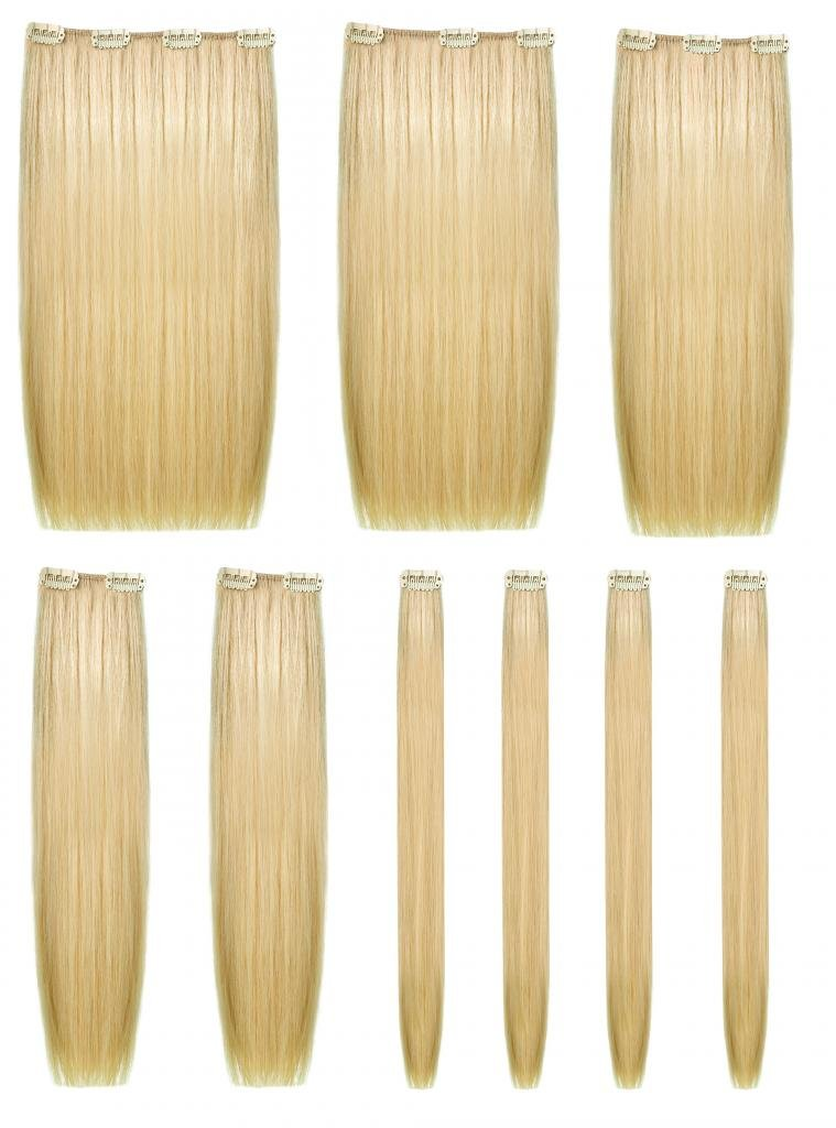 Amazon Human Hair 9 Piece Clip In Extension Set She By Socap