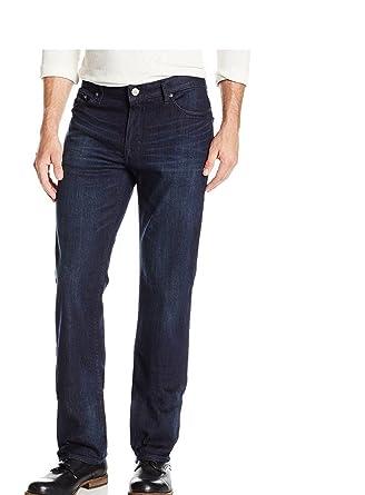 d126caeb Calvin Klein Mens Classic Straight Leg Jeans, Osaka Blue, 30 x 30