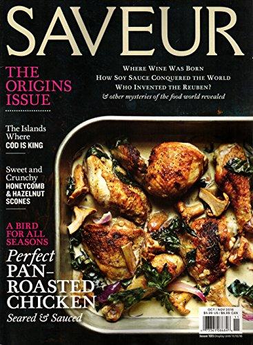 Saveur Magazine #185 October November 2016 | The Origins -