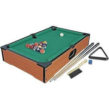HNaGRDMMP Niños Mini Madera Tabl Top Jugar al Billar Snooker Juego ...