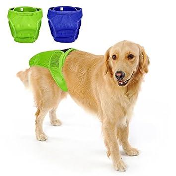 Lavable Perro Pañales Premium duradera Doggie Wraps – Cómodo Y Elegante perro pañales para dog-