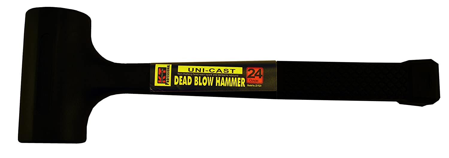 7-Ounce K-T Industries 23-1107 Claw TPR Handle Hammer