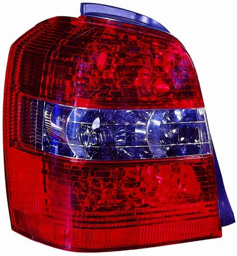 Depo 312-1953L-UF Toyota Highlander Driver Side Replacement Taillight Unit NSF Certified
