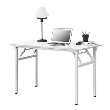 Tisch Klappbar Weiß.Neu Haus Klapptisch 120 X 60 X 75 76 4cm Schreibtisch Bürotisch Computertisch Tisch Klappbar Weiß