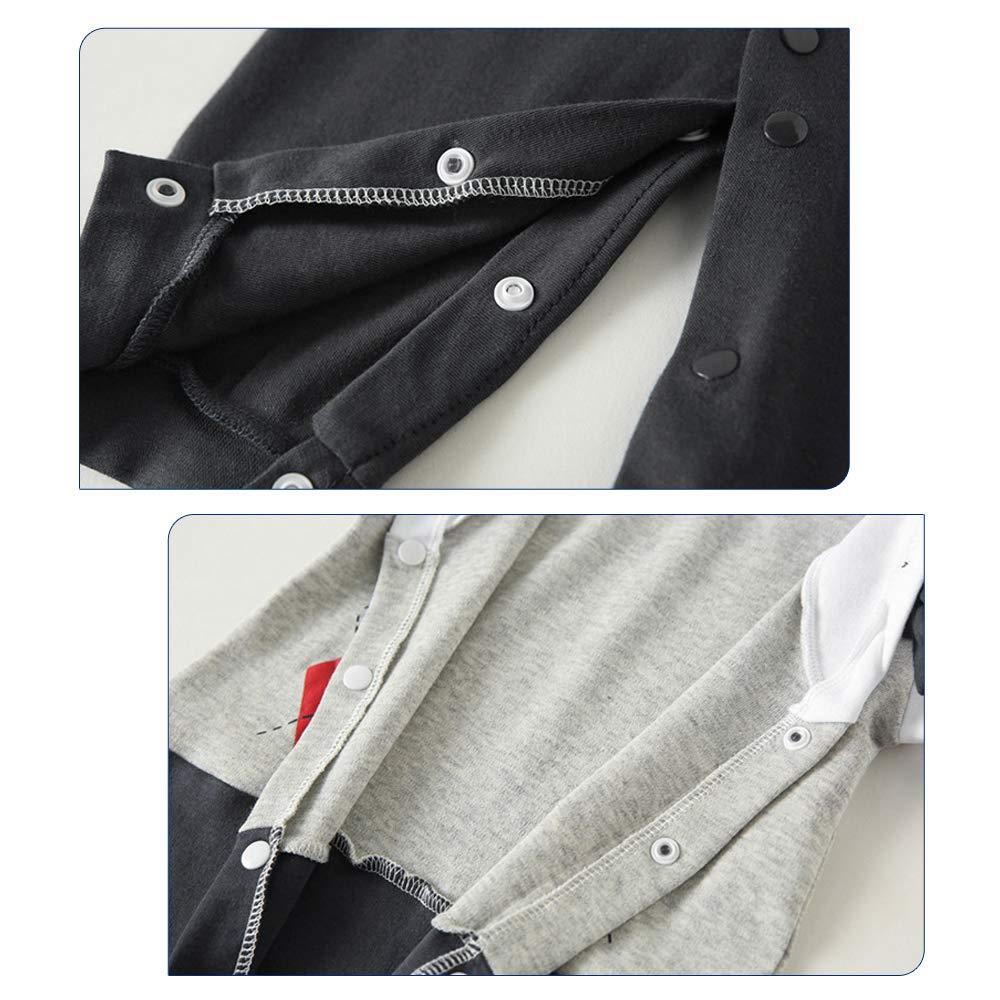 Yilaku Baby Boy Gentleman Outfits Toddler Infant Tuxedo Formal Suits Set Shirt Pants Dress Clothes