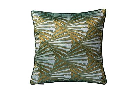 Amazon.com: Varaluz Casa - Almohada, color verde, dorado y ...