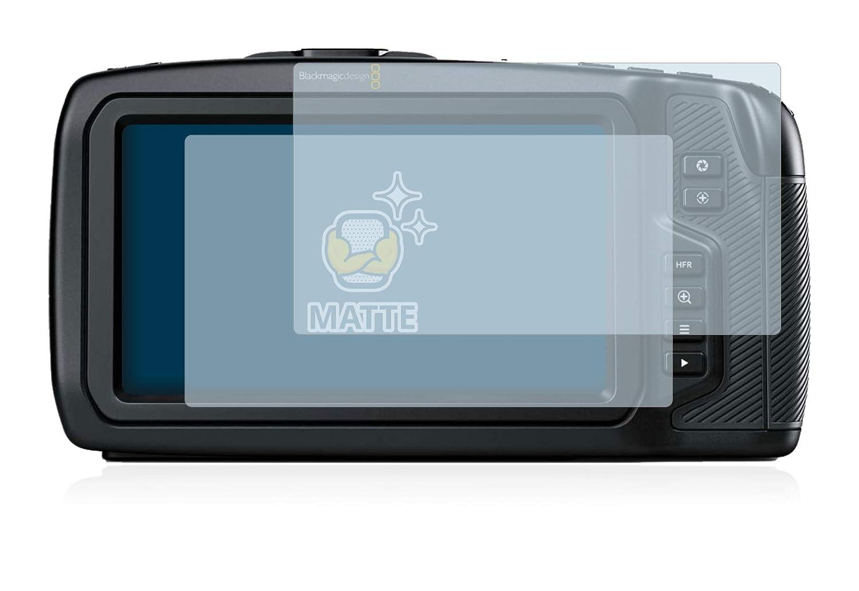 Anti-Reflejos 2 Unidades BROTECT Protector Pantalla Mate para Blackmagic Pocket Cinema 4K Camera