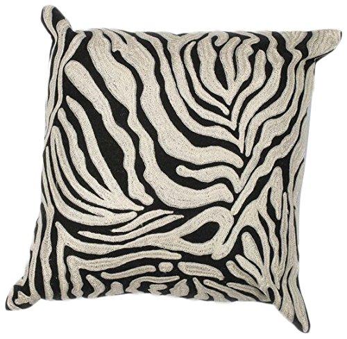 KAS Oriental Rugs Zebra Oasis Pillow, 18