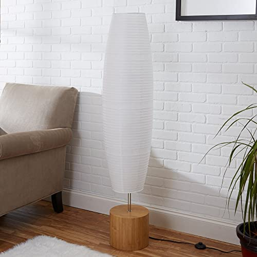 Mainstays Rice Paper Shade Floor Lamp