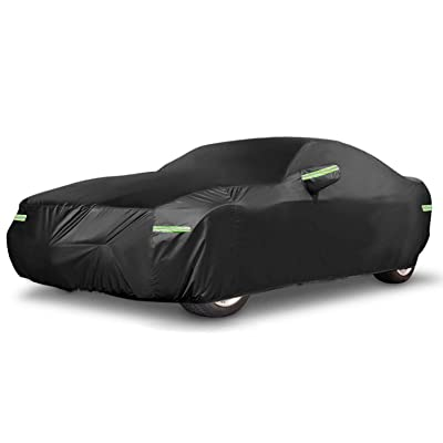 "Car Cover Sedan Universal Fit Up to 192 Inch Waterproof All Weather Sun UV Dustproof Windproof Scratch Resistant Protection Full Vehicle Cover (197"" L x 73"" W x 59"" H): Automotive"