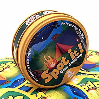 Asmodee Spot It Gone Camping Card Game (Camping)